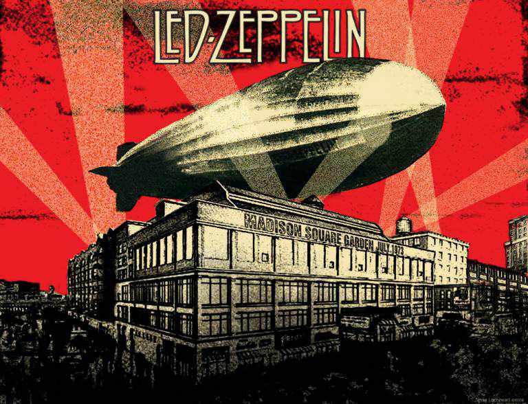 Led zeppelin madison square garden july 1973