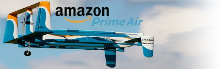 amazon prime air - amazon e google iniziano le consegne tramite droni