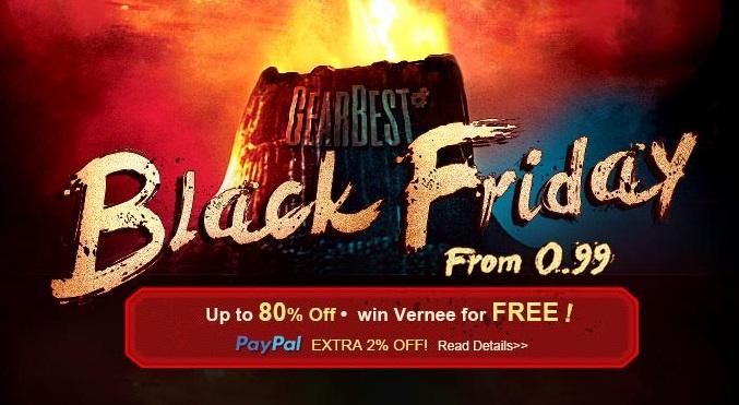 Black Friday su Gearbest