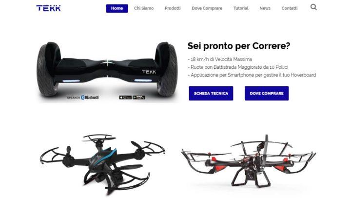 Tekk, droni e non solo!