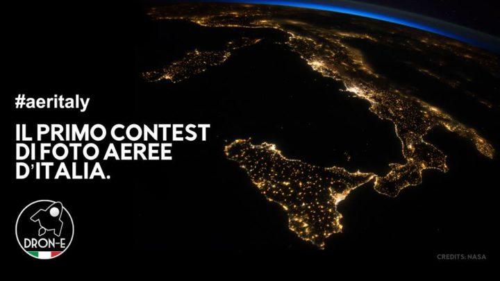 Aeritaly, il primo contest di foto aeree gratuito