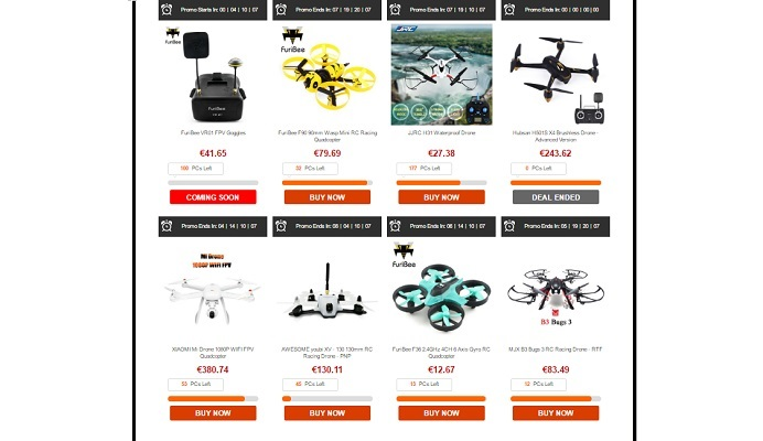 promozione gearbest cool toys e hobbies-droni promo-toys promo-hot-deals