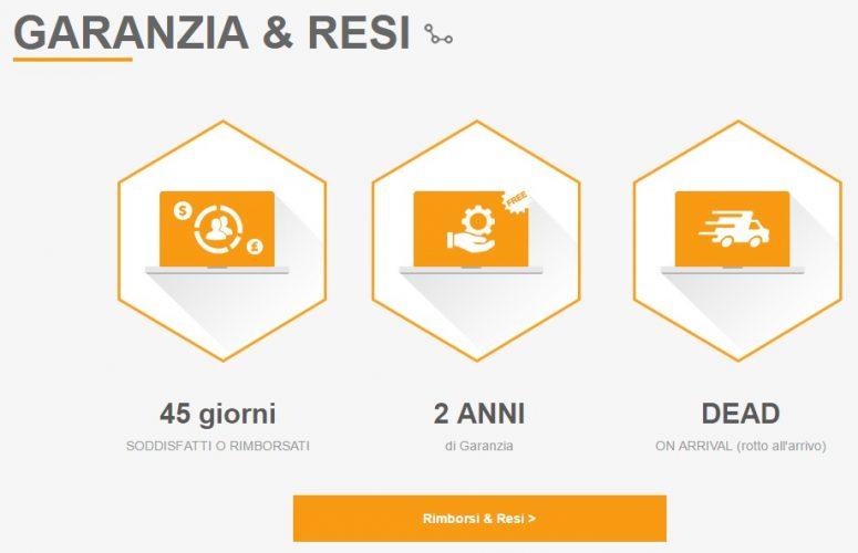 Gearbest Italia-apertura sezione italiana gearbest-promo gearbest italia-offerte gearbest-garanzia e resi