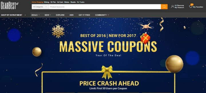 Gearbest Promo Massive Coupons