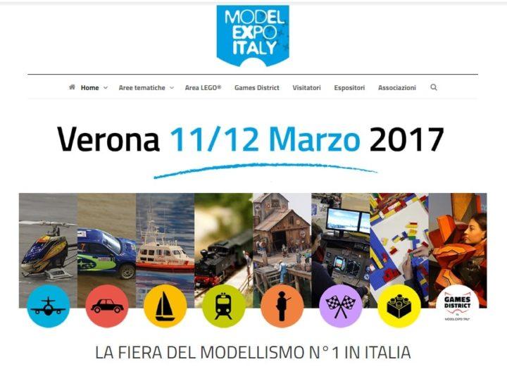 Model Expo Italy 2017: Modellini, Lego e Droni