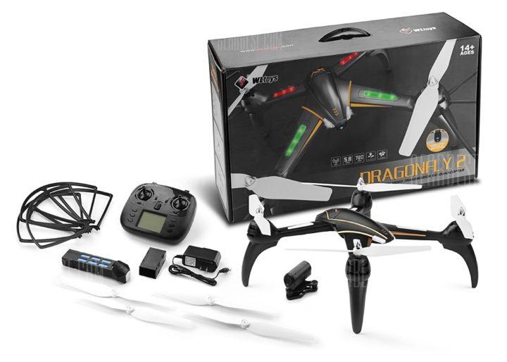 recensione wltoys q393-recensione dragonfly 2-quadricottero-drone fpv-drone con camera
