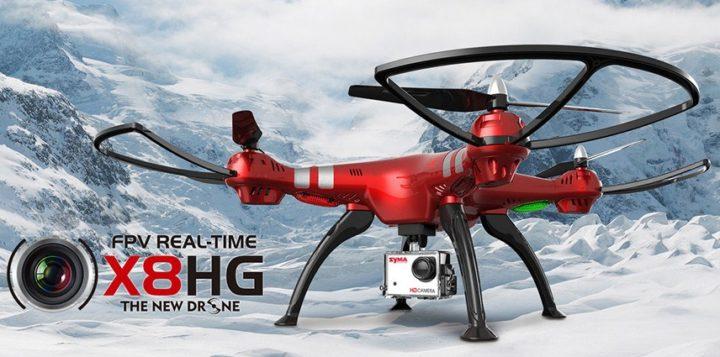 Syma X8HG: Il drone perfetto per equipaggiare un action cam