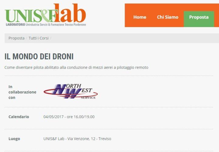 NORMATIVA ENAC-Droni-uniseflab-il mondo dei droni-incontro su normativa enac