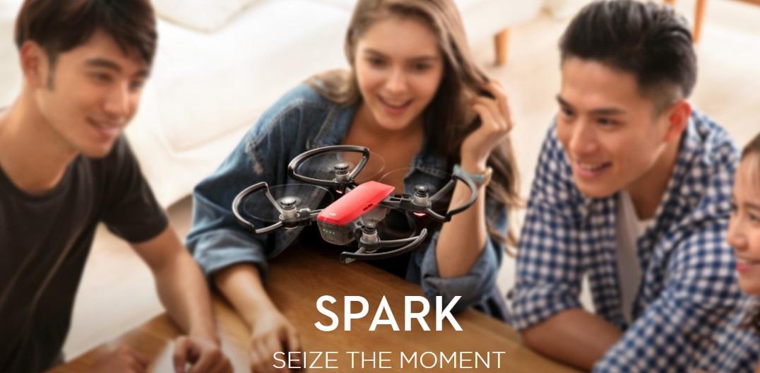 DJI Spark : il Drone da 300 grammi che riconosce i movimenti