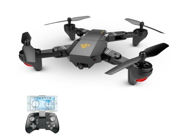 VISUO XS809W: Il drone che copia il Mavic