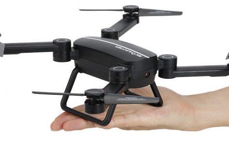 recensione JIE-STAR X8TW-coupon sconto-drone pieghevole