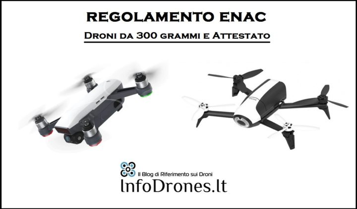 Droni da 300 Grammi: Serve l'attestato?