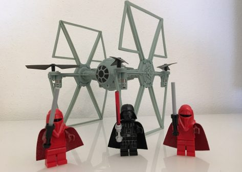 Recensione RC Fighter Shape -Drone Tie Fighters Star Wars Replica-drone star wars
