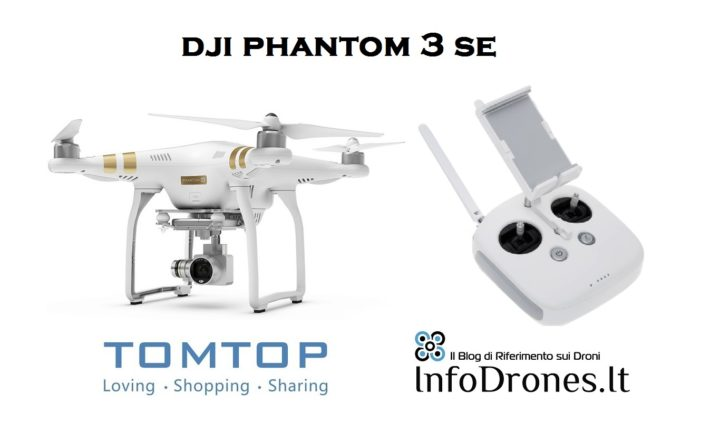 DJI Phantom 3 SE, il revival del DJI Phantom 3 Professional
