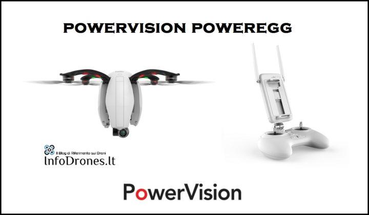 recensione drone powervision poweregg camera drone uovo ita