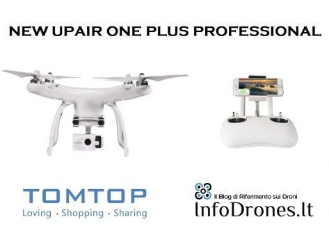 recensione upair one plus professional tomtop coupon offerte