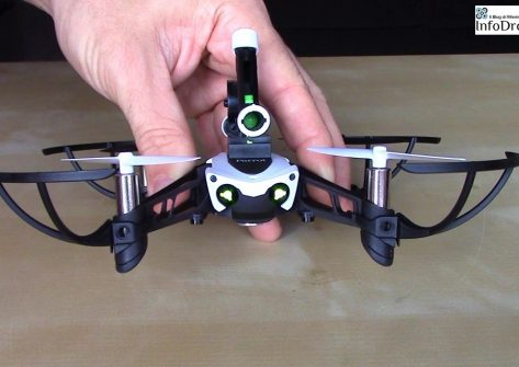 recensione parrot mambo-parrot mambo recensione-drone spara pallini