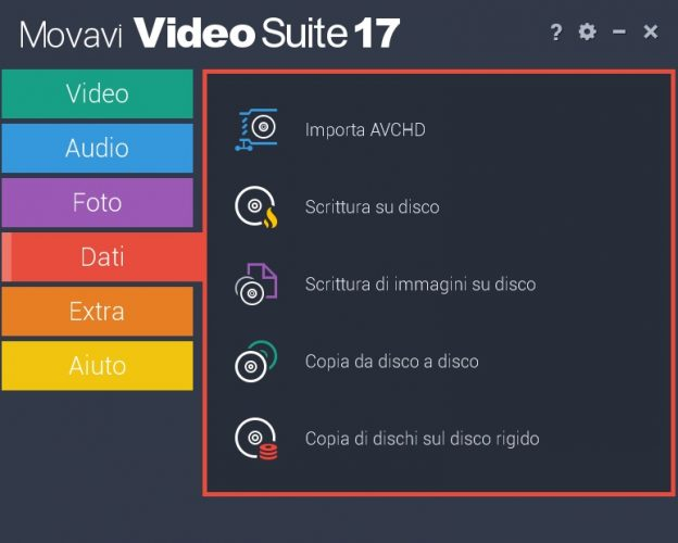 Movavi Video conversione