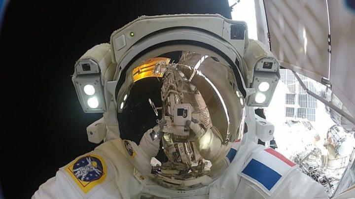 Action cam riprese dallo spazio