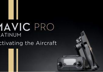 Come attivare il drone DJI Mavic Pro Platinum