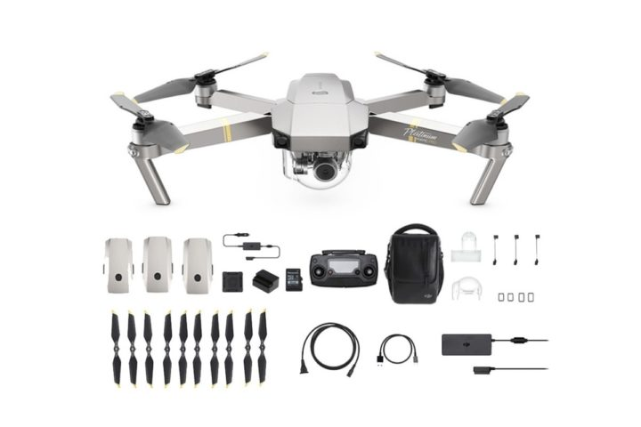 Coupon DJI Mavic Platinum Combo Gearbest