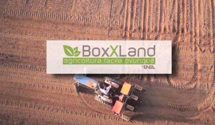 enea boxxland-primo prototipo di vertical farm mobile
