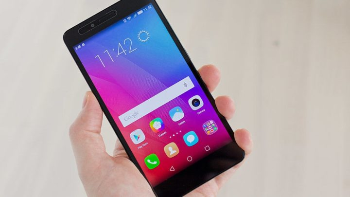Honor 5X con sistema Android