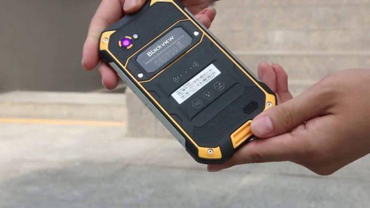 nuovo smartphone Blackview bv6000 s amazon