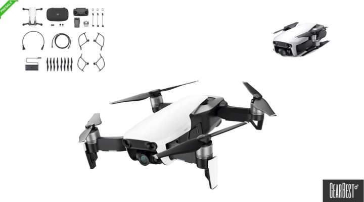 coupon dji mavic air gearbest