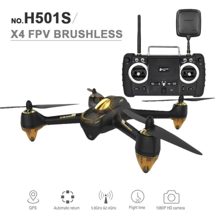 Coupon Hubsan H501s X4 Advanced su Gearbest