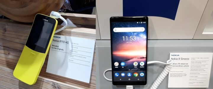 video nuovi smartphone nokia 8810-nokia sirocco 2018 mwc