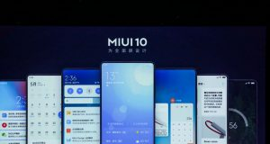 Smartphone MIUI 10