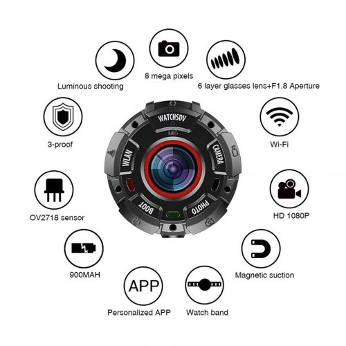 HJYQ Action Camera caratteristiche