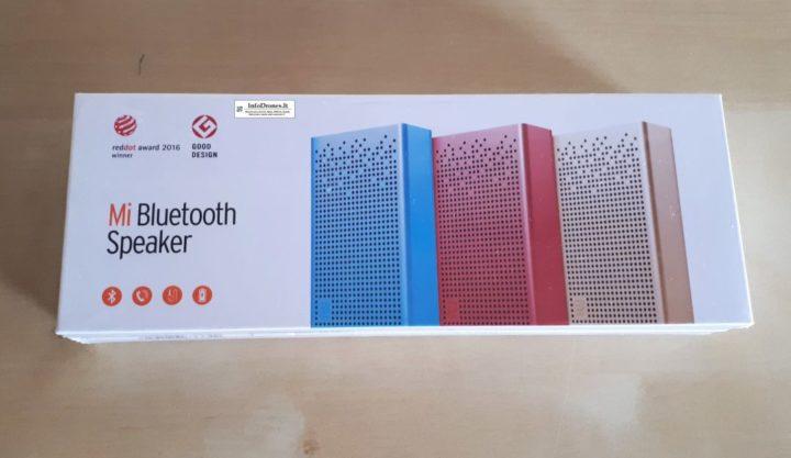 Xiaomi Mi Bluetooth Speaker confezione