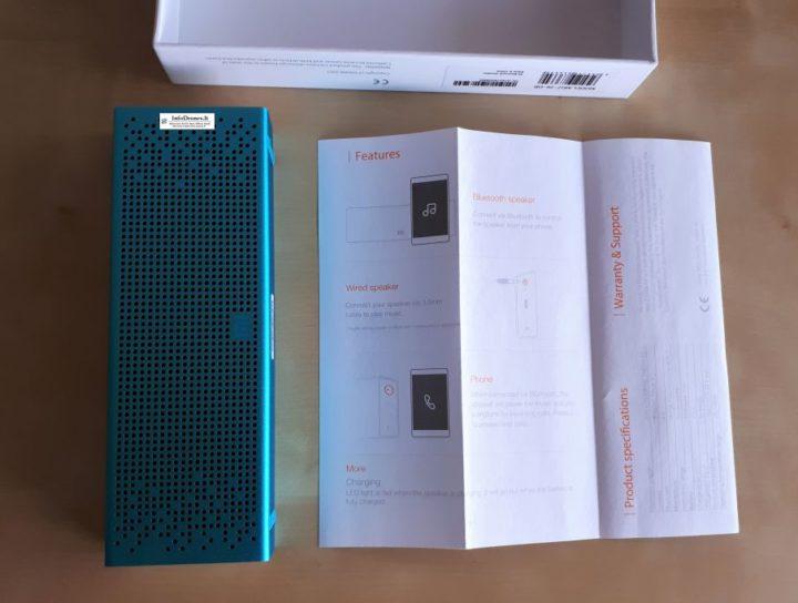 Xiaomi Mi Bluetooth Speaker contenuto confezione