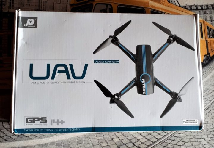 confezione JXD 528 Future Tomtop