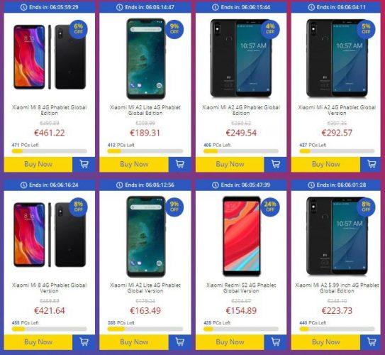 nuova promozione xiaomi gearbest special cellulari