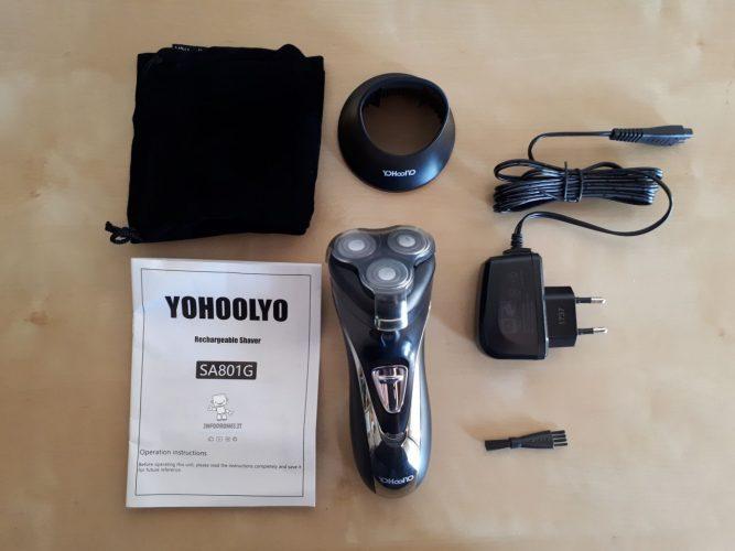 Yohoolyo Rasoio Elettrico a Testine confezione