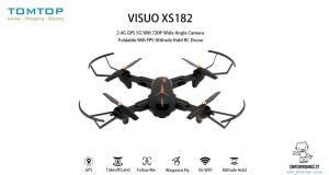 drone VISUO XS812 GPS tomtop