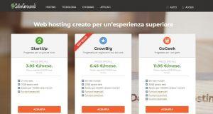 siteground prezzi piani hosting - prezzi siteground