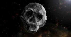asteroide a forma di teschio