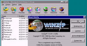 Comprimere file con Winzip